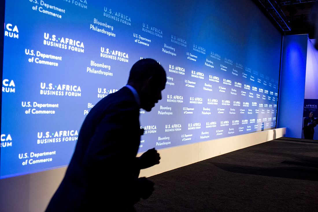 President Obama at the U.S.-Africa Business Forum