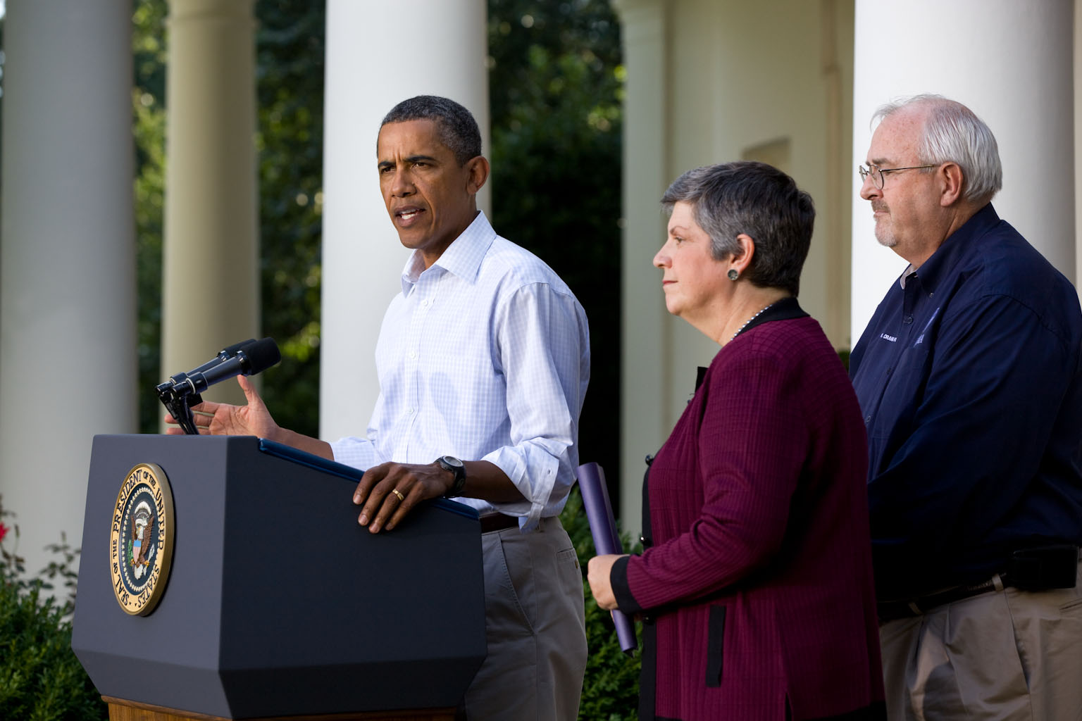 President Obama on Hurricane Irene Recovery