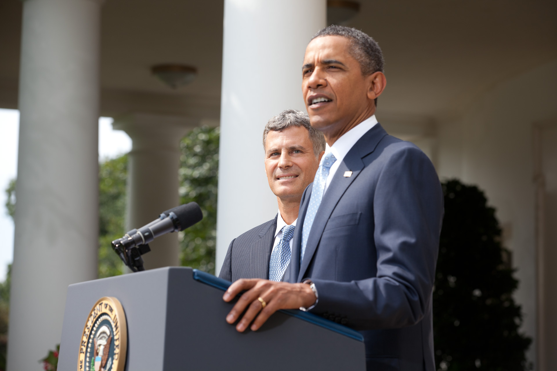 President Obama announces Alan Krueger to lead the Council of Economic Advisers