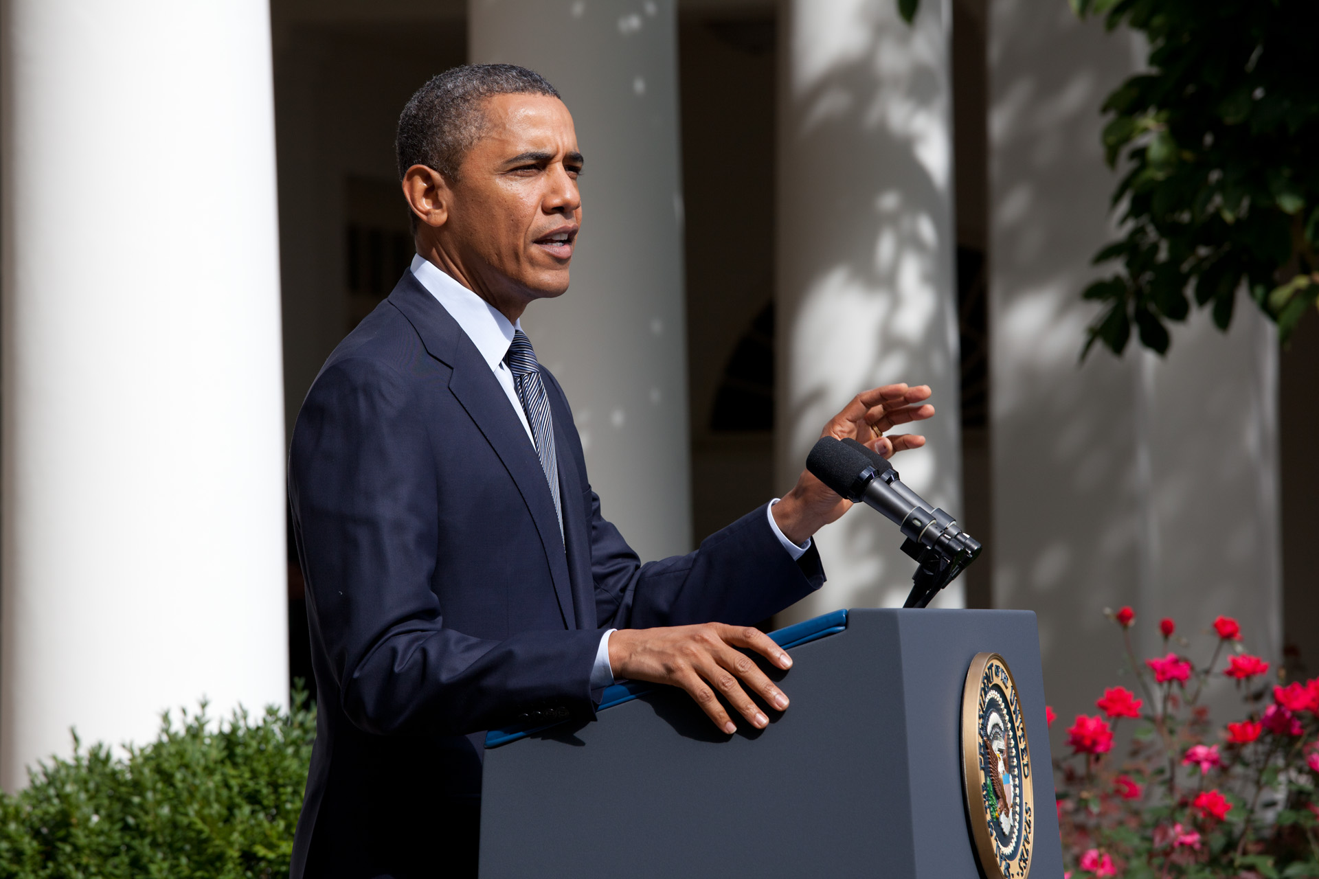 President Obama announces his Plan for Economic Growth and Deficit Reduction