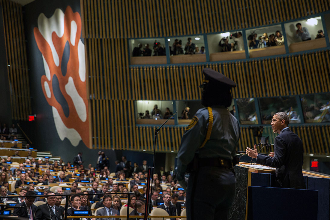 President Barack Obama delivers remarks at the United Nations General Assembly Climate Summit 2014 (2)