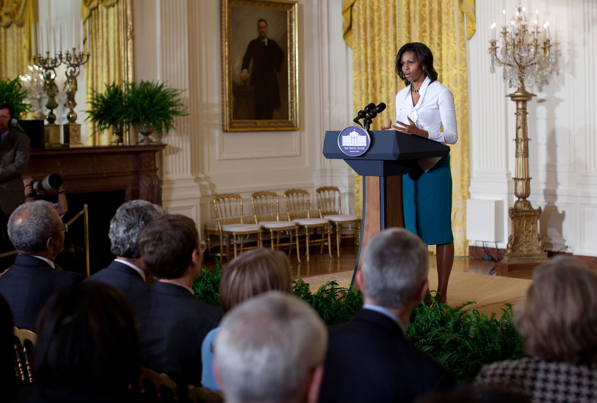 First Lady Michelle Obama on the National Science Foundation's Career-Life Balance Initiative