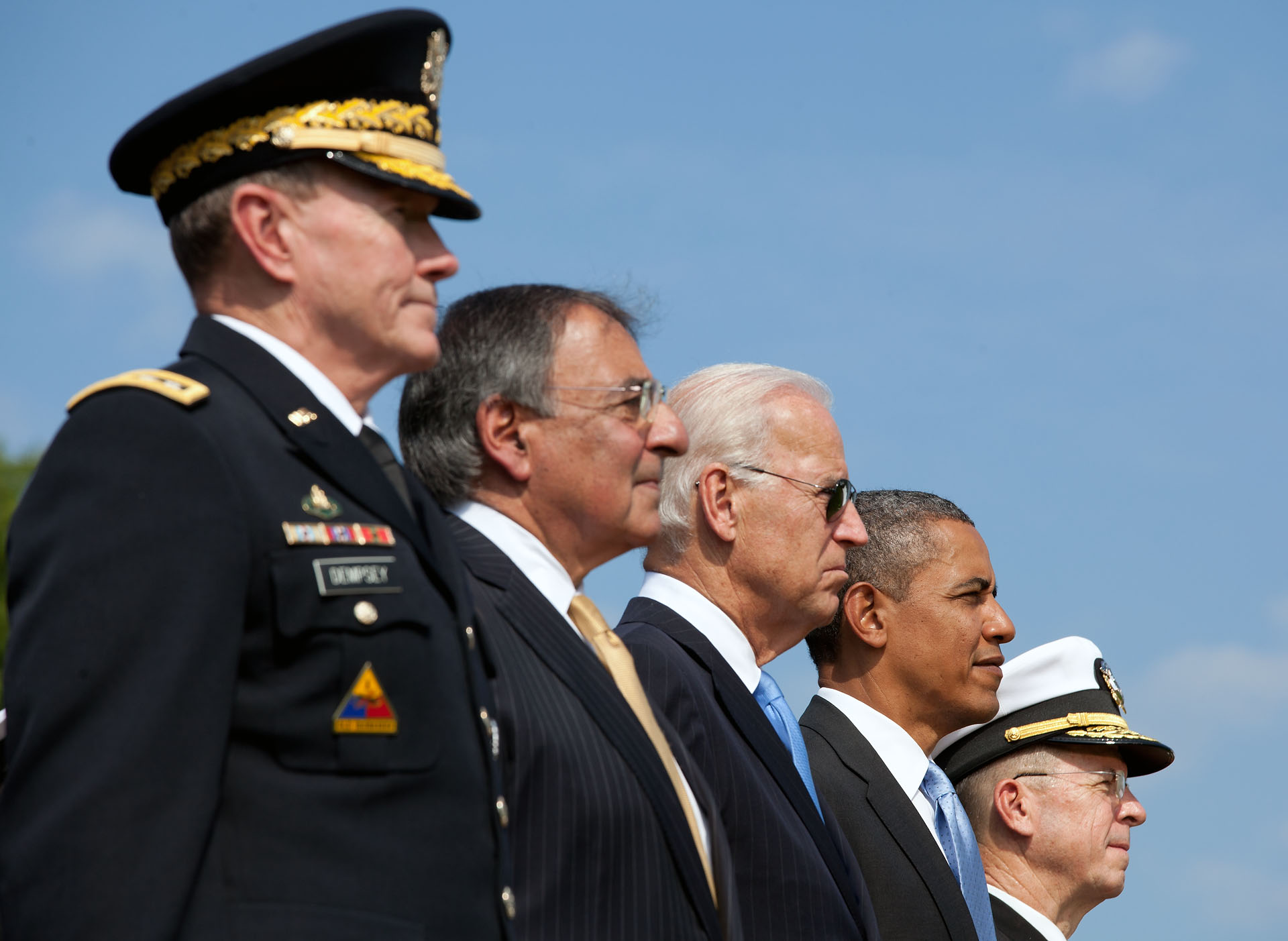 "President Barack Obama at the ""Change of Office"" Ceremony"