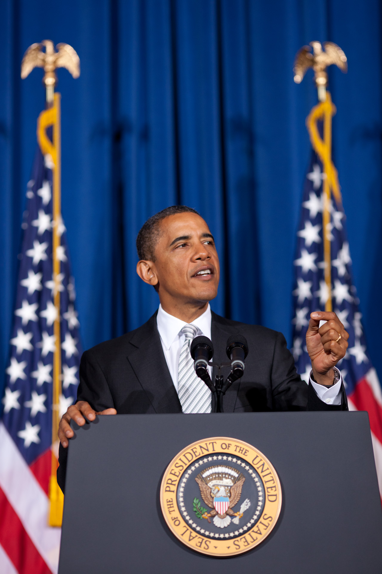 President Obama delivers remarks at the American Latino Heritage Forum