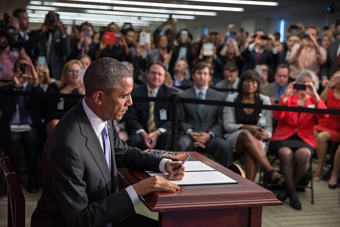 President Obama signs Executive Order to provide consumers with more tools to secure their financial future