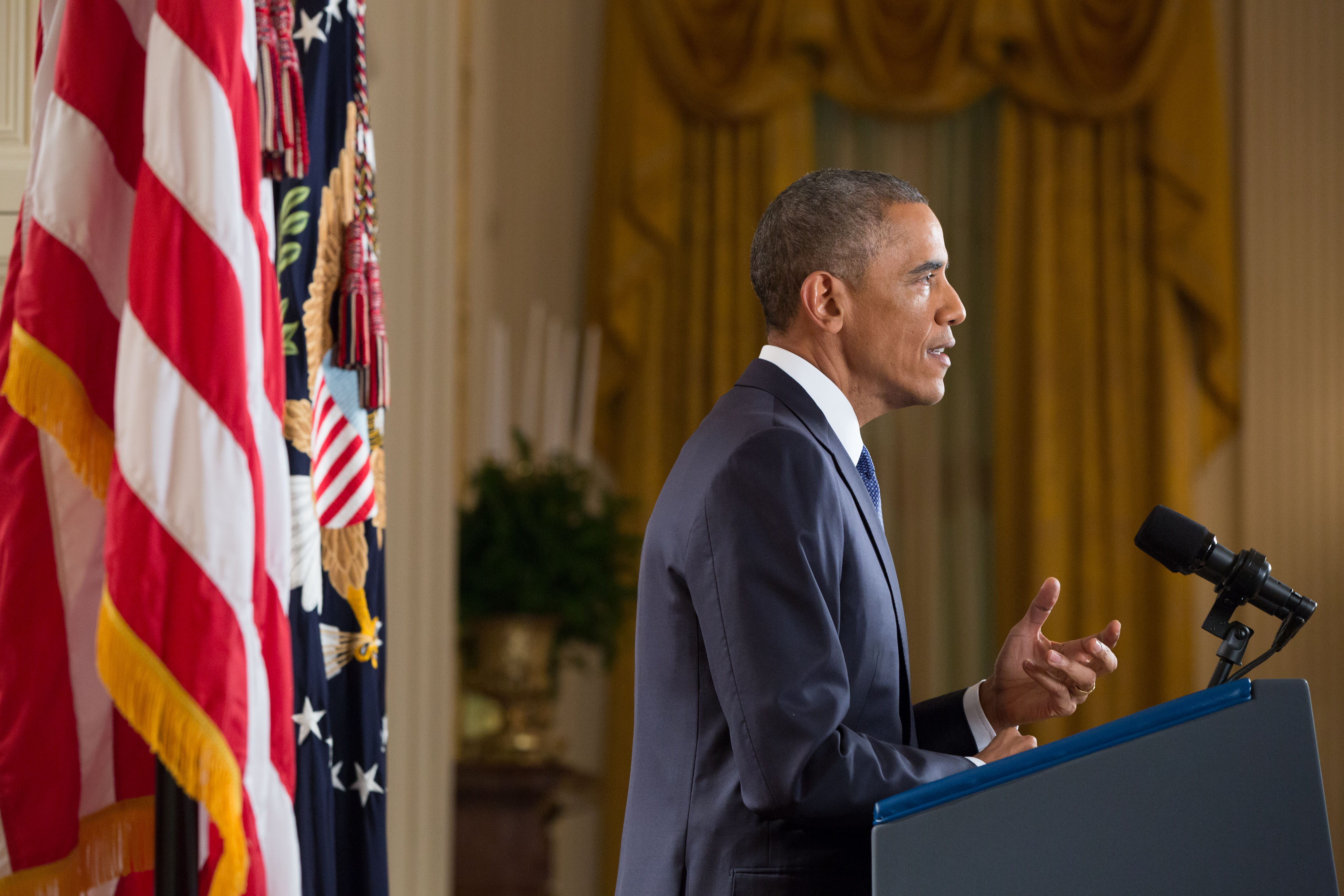 President Obama delivers an address to the nation on immigration, Nov. 20, 2014