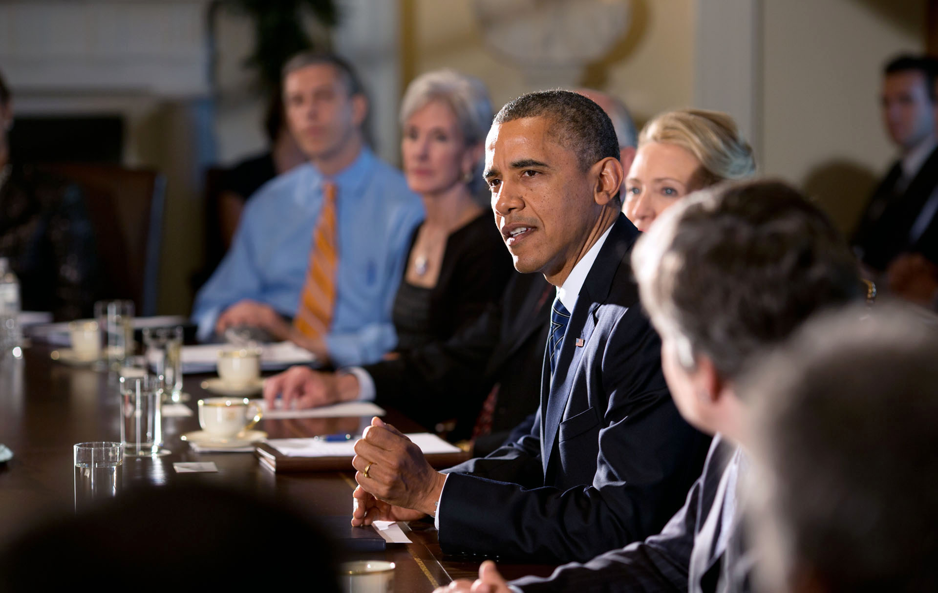 President Obama Holds a Cabinet Meeting | whitehouse.gov