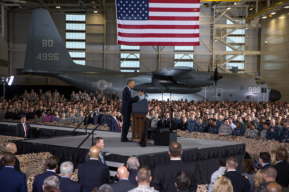 President Obama delivers remarks at Joint Base McGuire-Dix-Lakehurst (1)