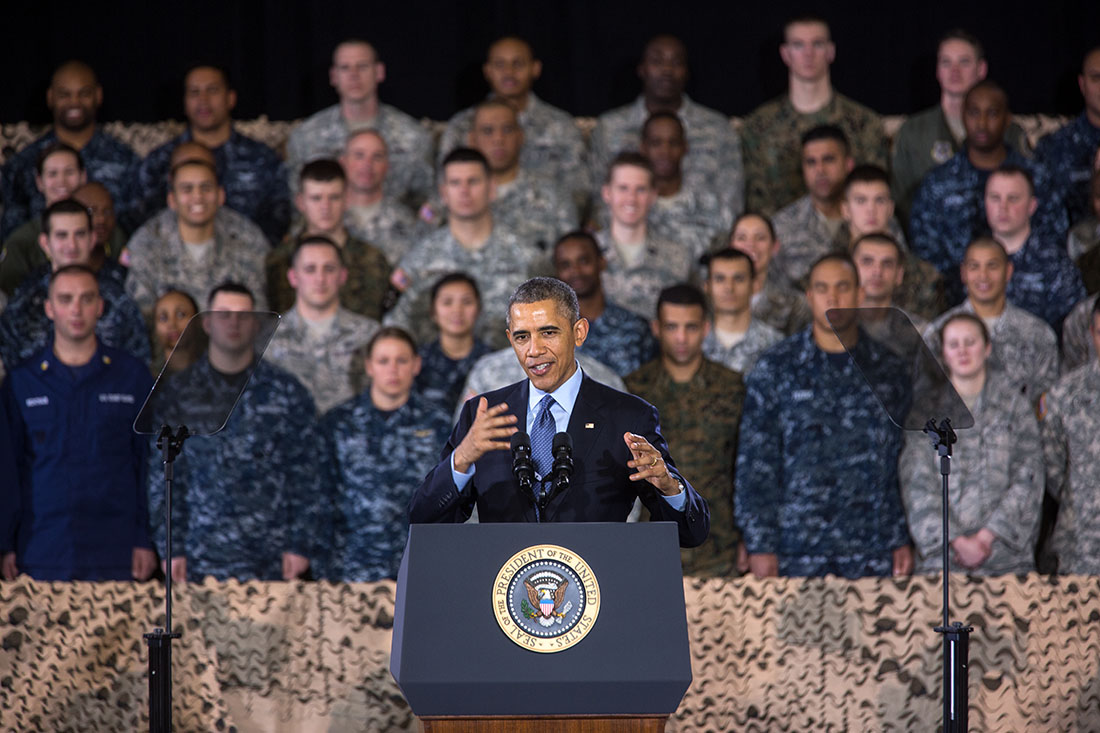 President Obama delivers remarks at Joint Base McGuire-Dix-Lakehurst (2)