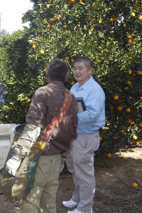 Paul Chang Meets with Agricultural Workers