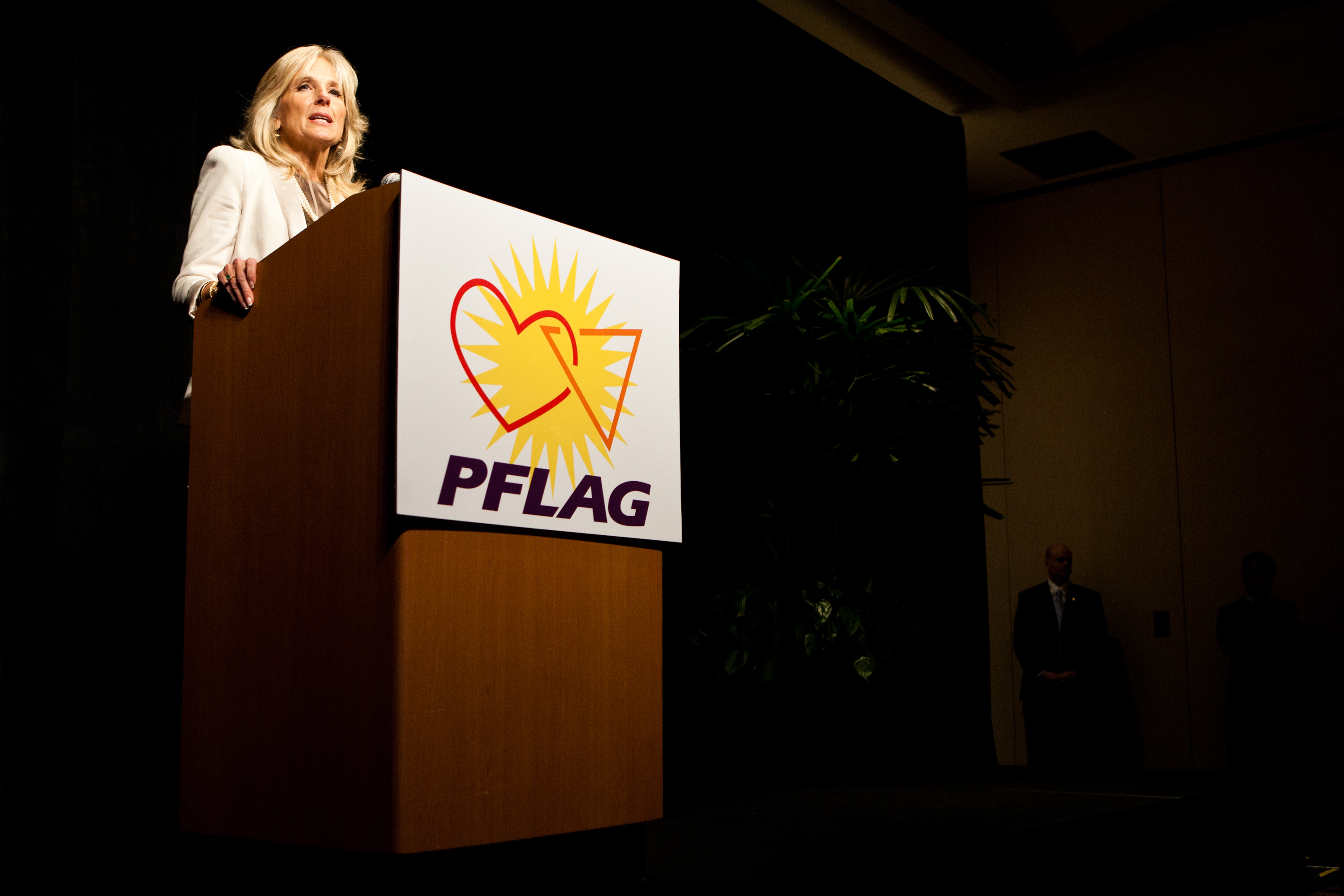 Dr. Jill Biden speaks at the 2011 PFLAG National Convention