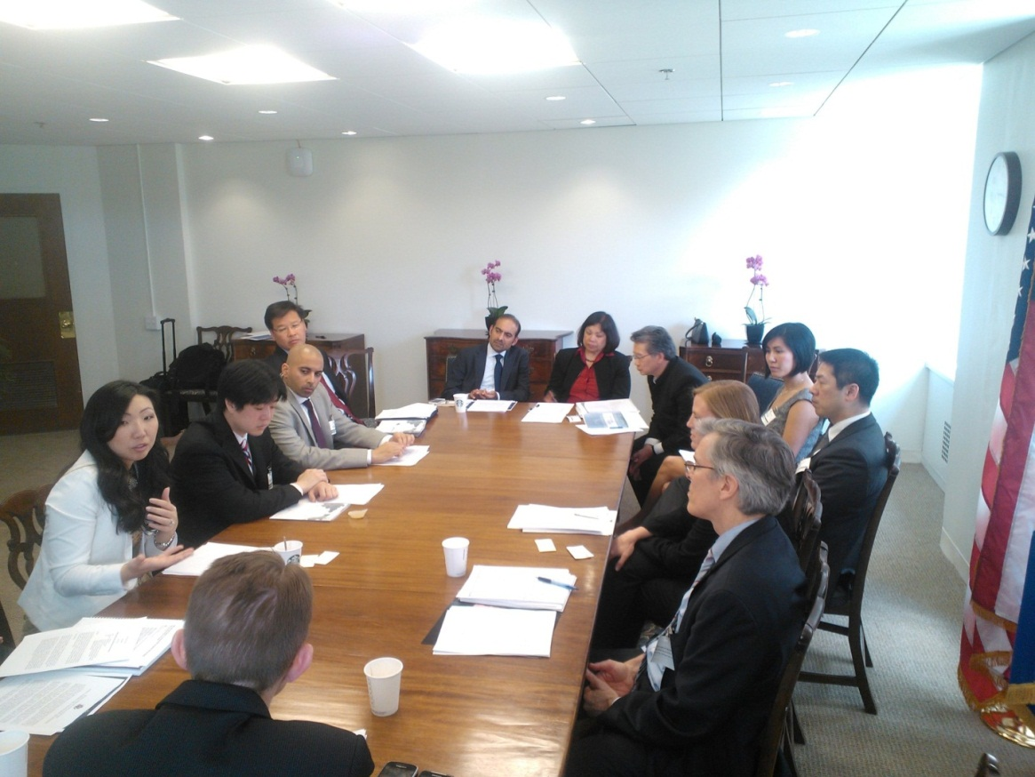 White House Initiative on AAPI meets with Agencies