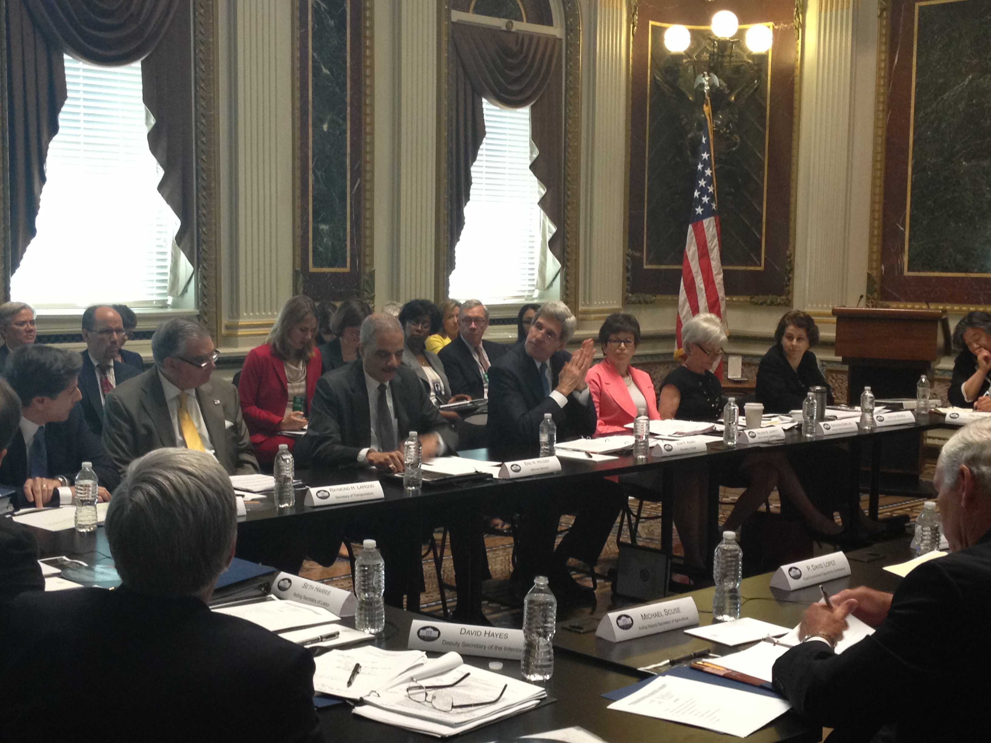 Meeting of President's Interagency Task Force to Monitor and Combat Trafficking in Persons