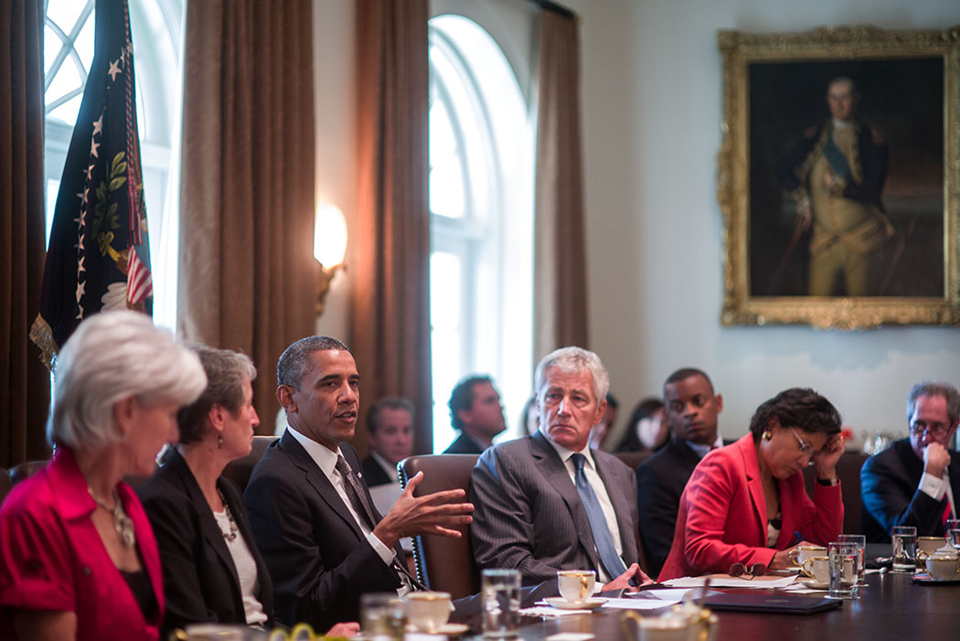 President Obama Meets with His Cabinet   whitehouse.gov