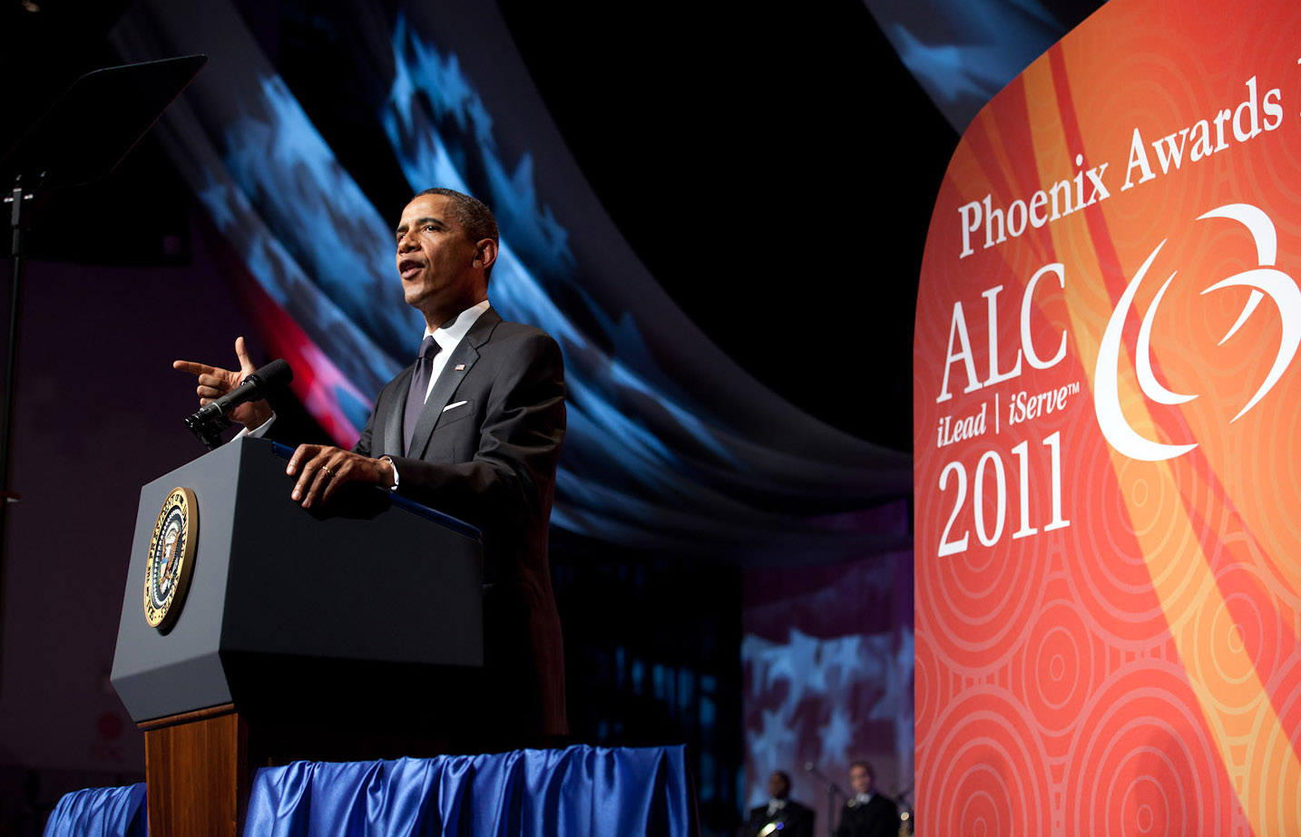 President Obama speaks at the CBC 2011