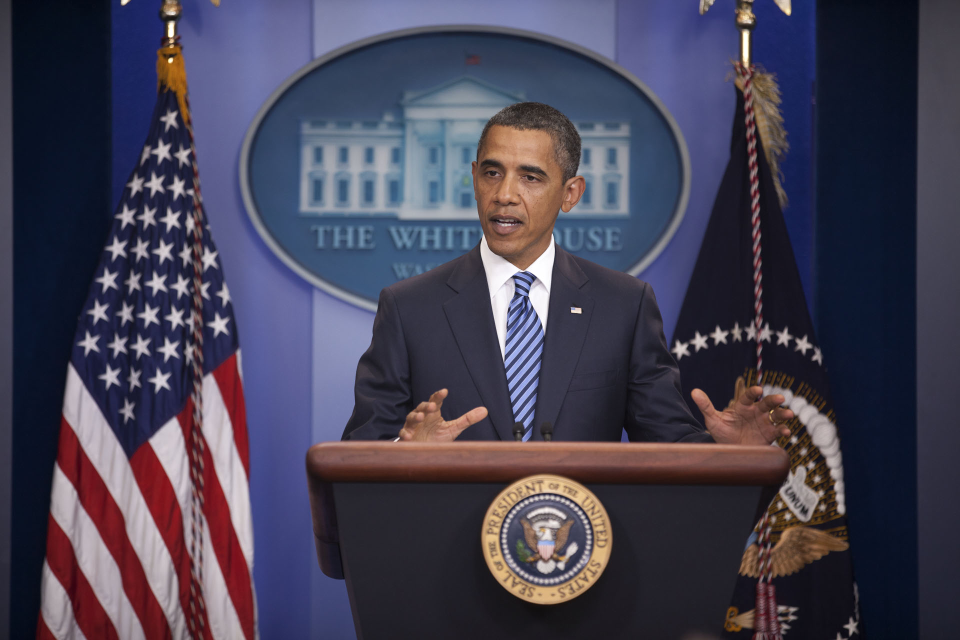 President Obama Press Conference the Status of the Deficit Negotiations