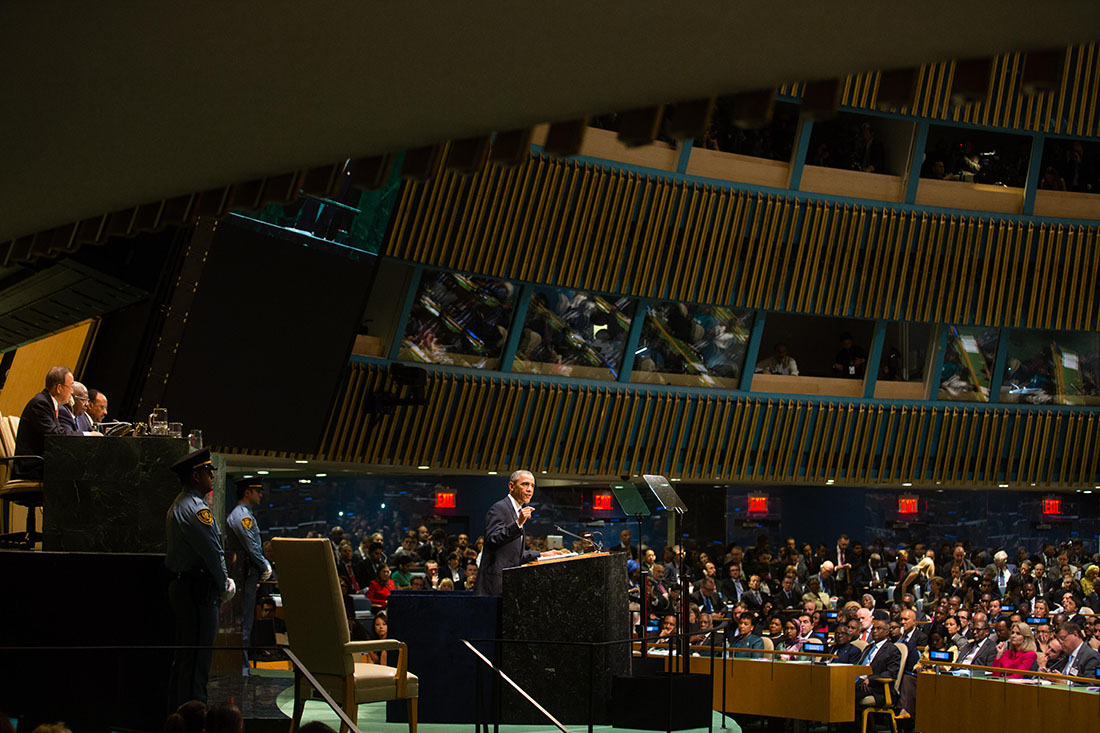 President Obama at the UN General Assembly 2014