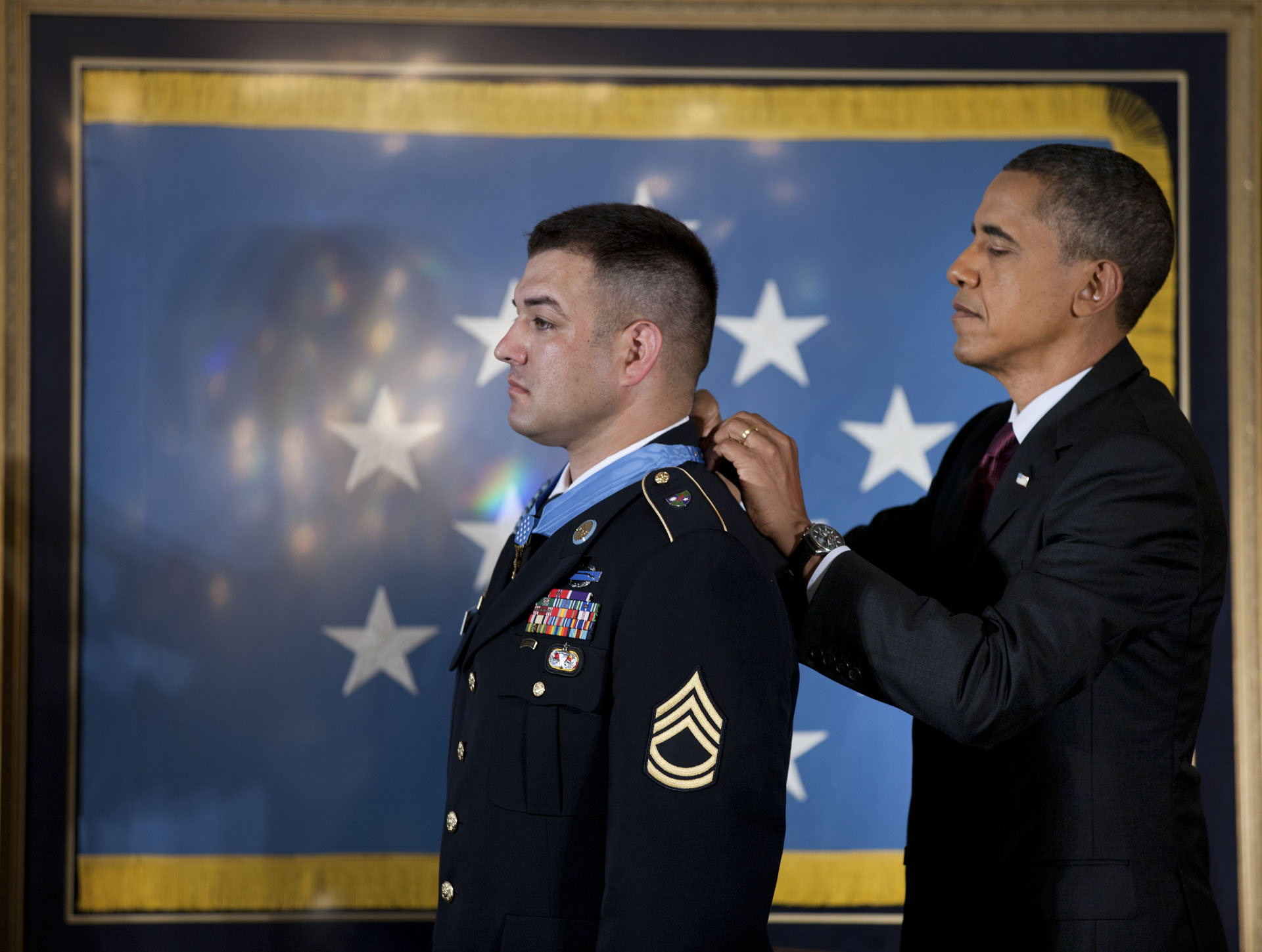 President Obama Awards the Medal of Honor to Sergeant First Class Leroy Petry