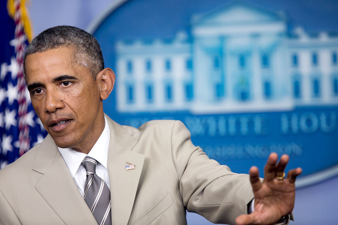 President Obama Delivers a Statement on the Economy, Iraq, and Ukraine