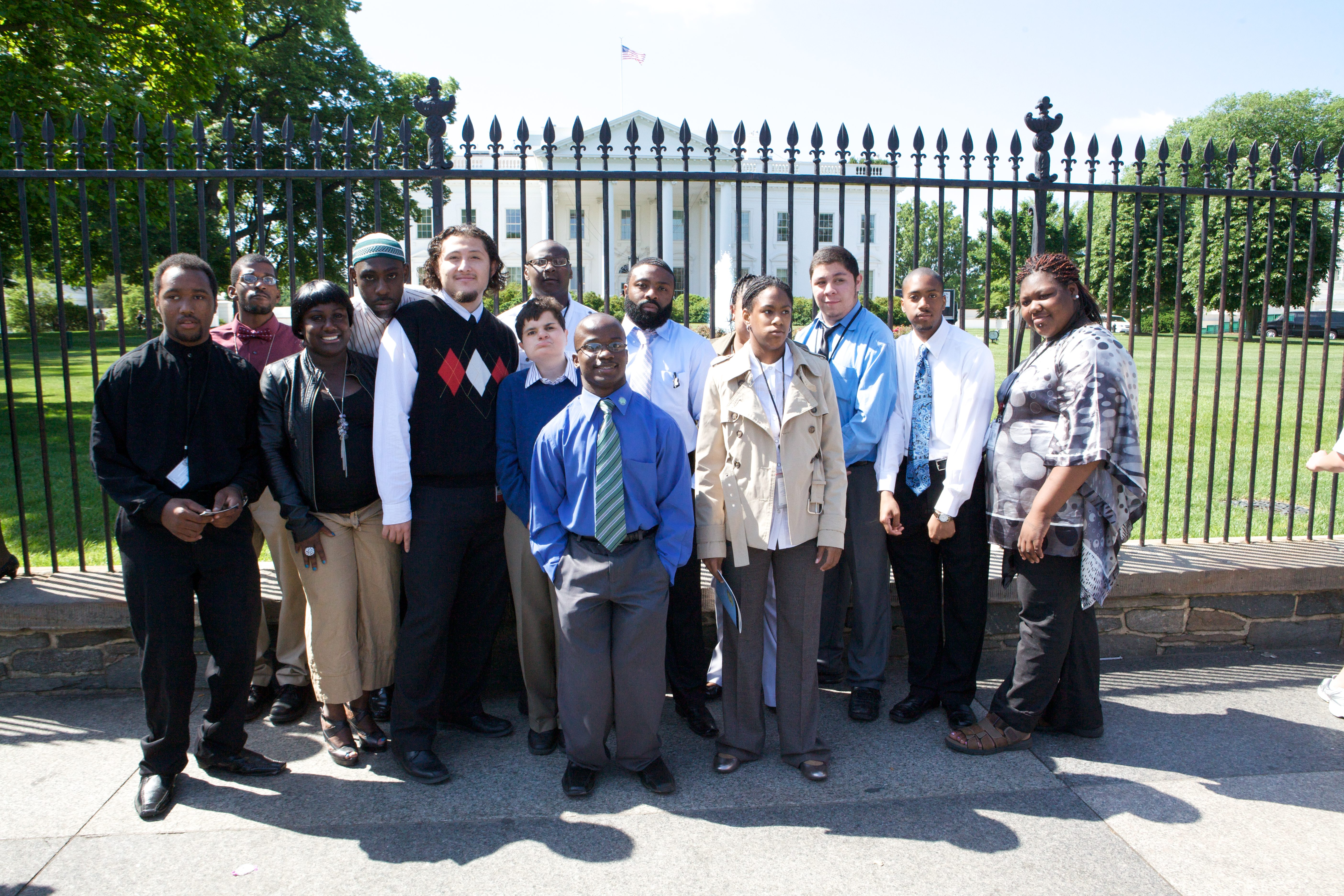 Project SEARCH Student Interns Visit the White House