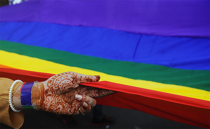 Rainbow Pride Rally in Kolkata