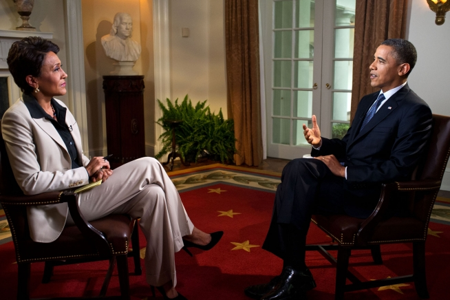 Robin Roberts and POTUS Interview