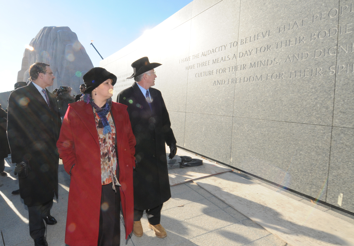 Salazar Tours MLK Memorial