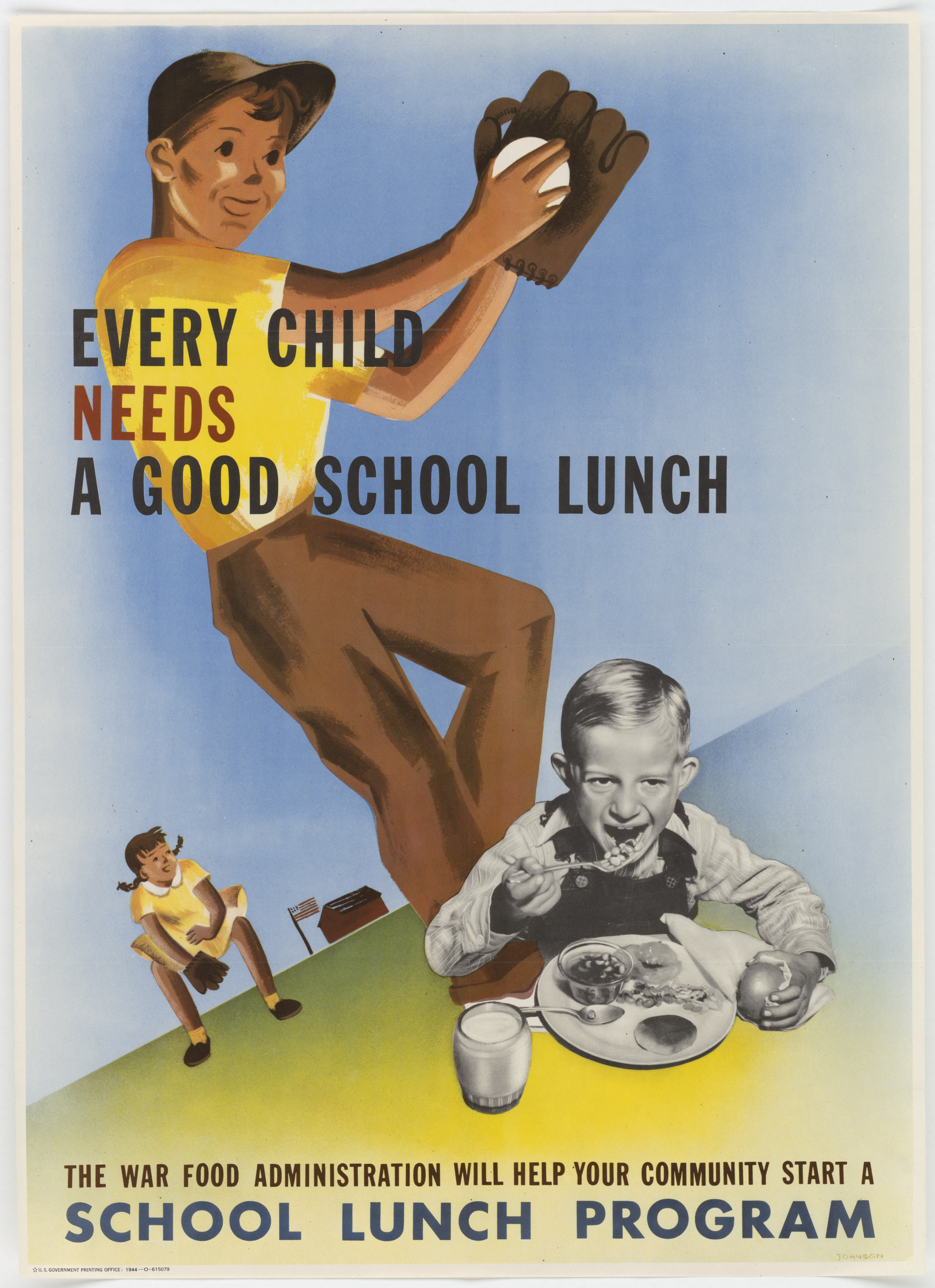 War Food Administration Poster, 1944 (National Archives)