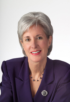 Health and Human Services Secretary-designate Kathleen Sebelius