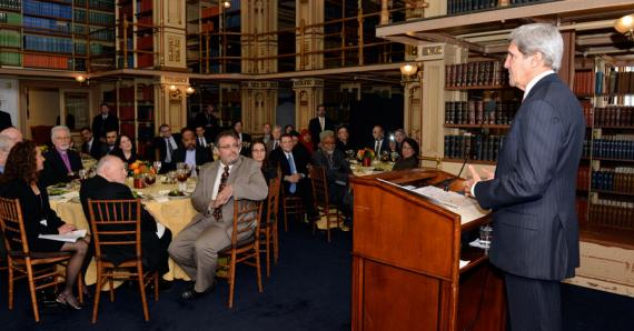 Secretary Kerry Delivers Remarks at Georgetown University