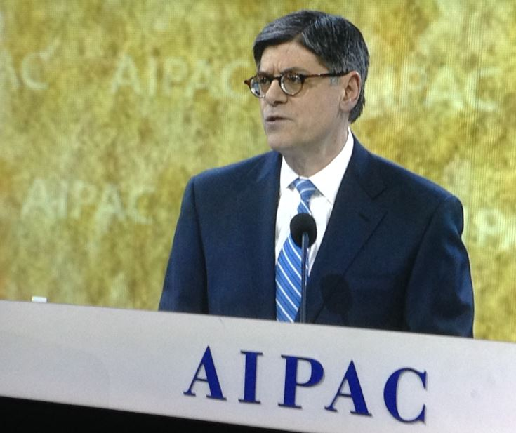 Secretary Lew Delivers Remarks at AIPAC