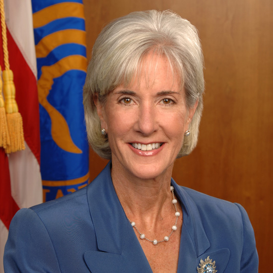 Secretary Sebelius official