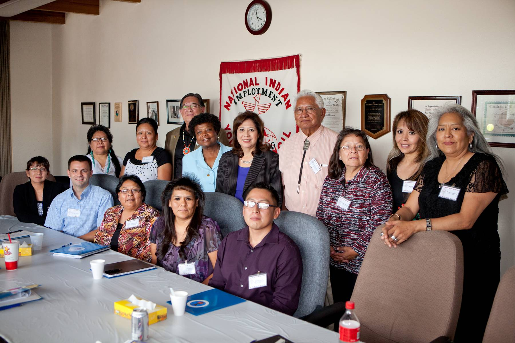 Secretary Solis Meets with the National Indian Youth Council