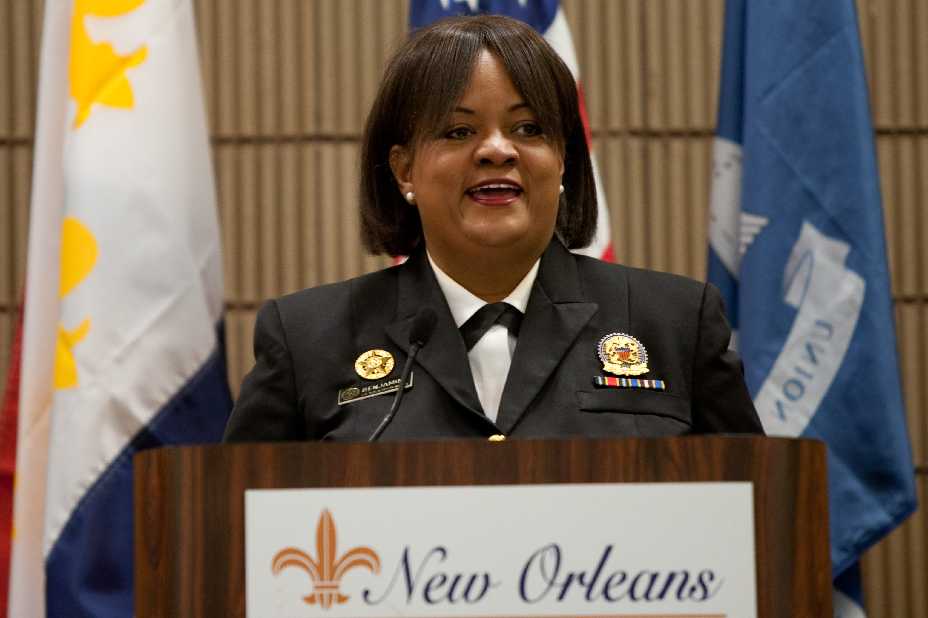 U.S. Surgeon General Dr. Regina M. Benjamin at New Orleans Conference