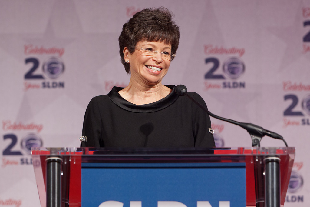 Valerie Jarrett Speaks at the Servicemembers Legal Defense Network 20th National Dinner