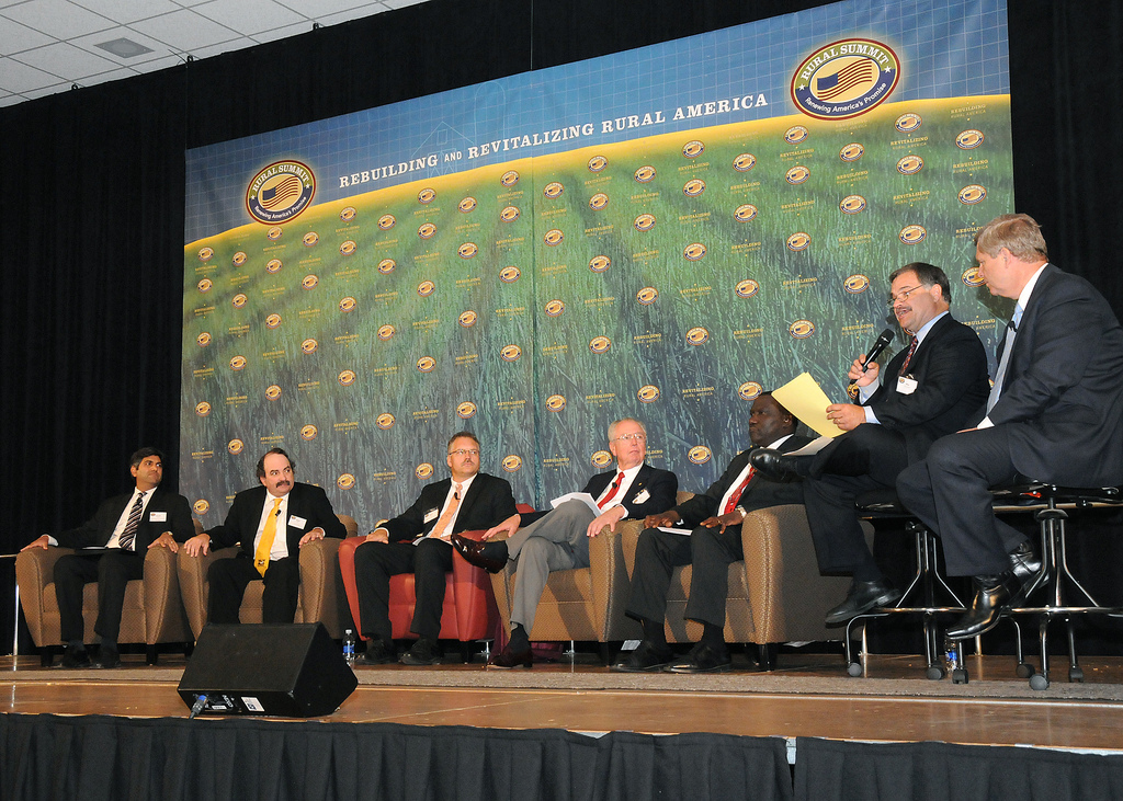 A Dialogue on Rural America was the first discussion panel held at the National Rural Summit