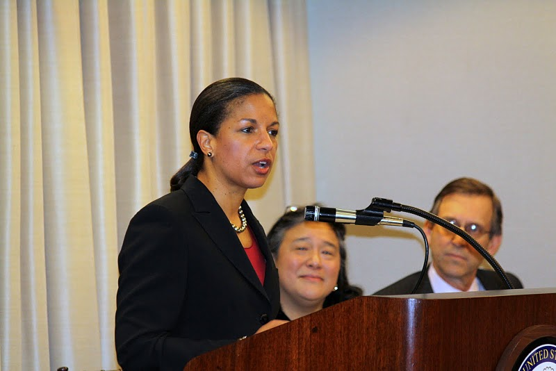 Susan Rice at UN Commission on the Status of Women