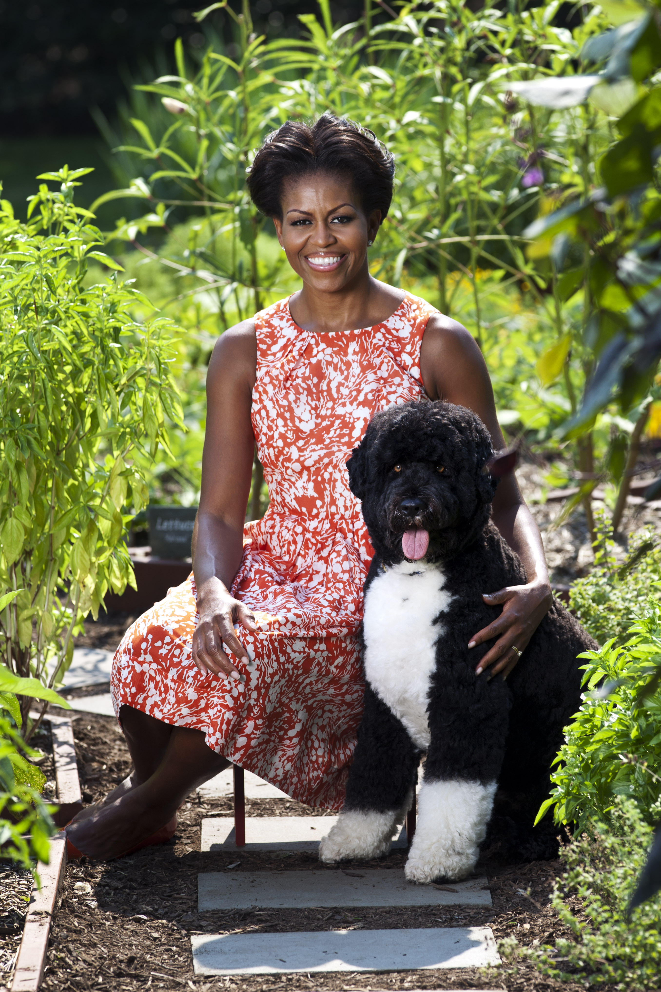 The First Lady and Bo