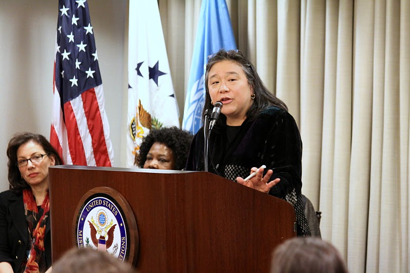 Tina Tchen at U.N.'s Commission on the Status of Women