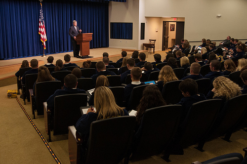 Agriculture Secretary Tom Vilsack speaks at a meeting of the White House Rural Council