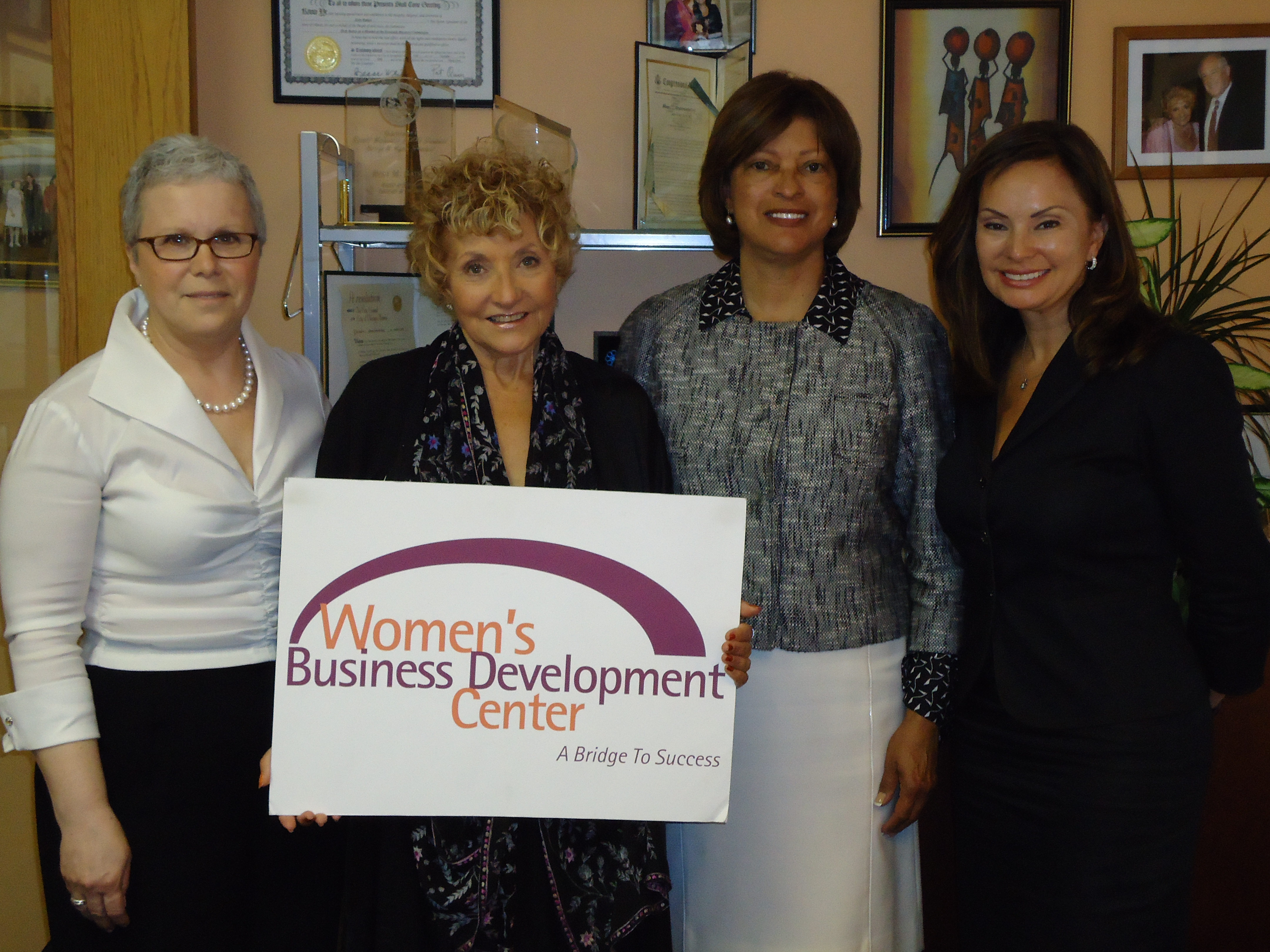 Treasurer Rosie Rios at the the Women's Business Development Center of Chicago