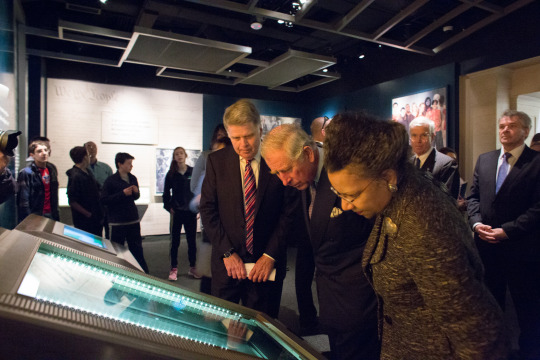 HRH Prince of Wales visits National Archives