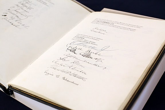 United Nations Charter at the New York Headquarters of USUN