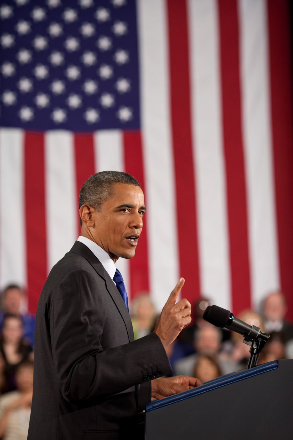 President Barack Obama Speaks About the Economy at the University of Nevada, Las Vegas