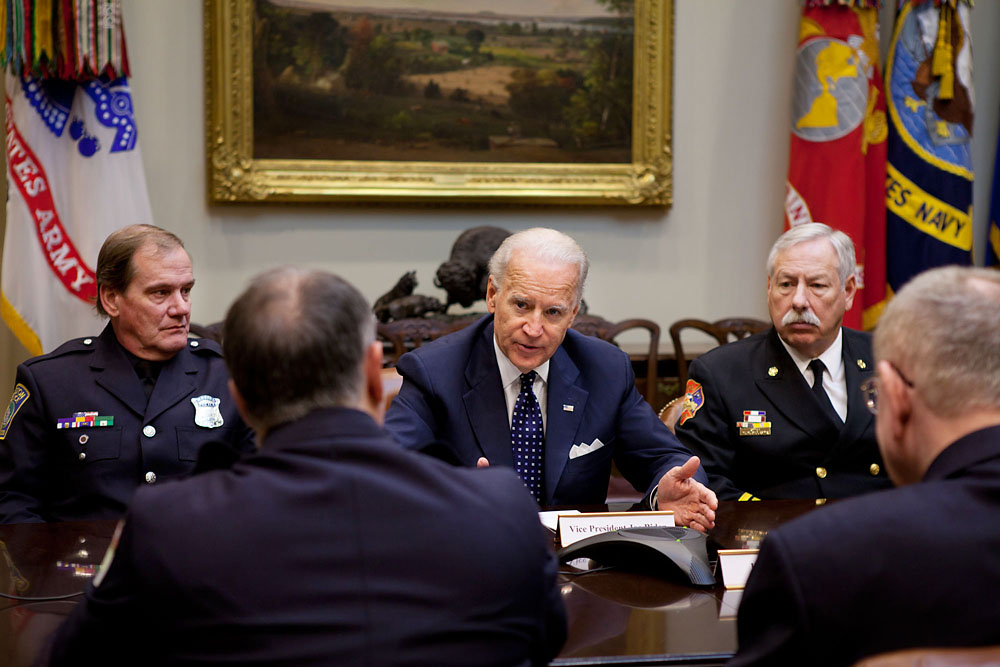 Vice President Biden Meets with Law Enforcement Officials, Firefighters and Public Safety Groups