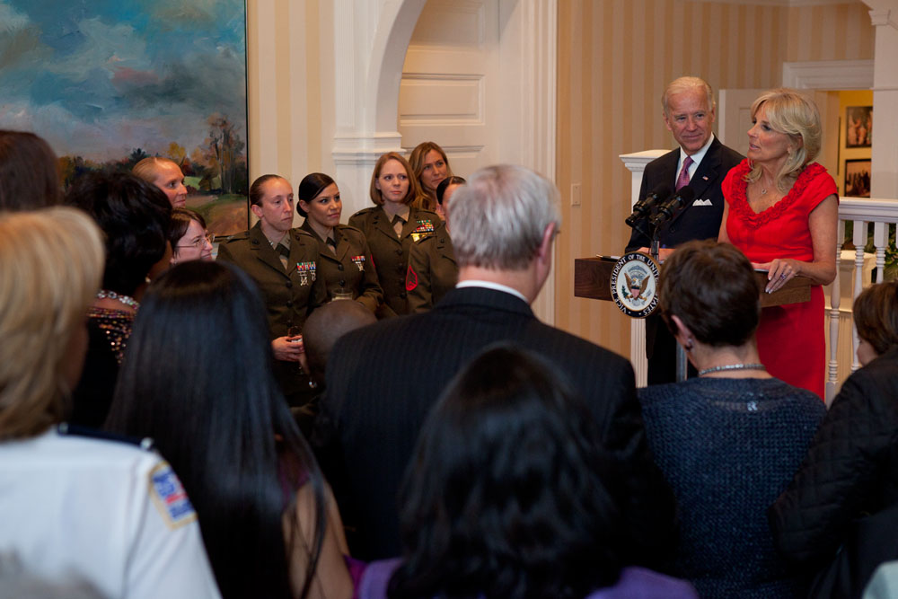 Vice President and Dr. Biden host a Women's History Month reception