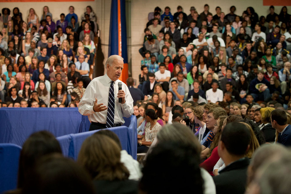 Vice President Joe Biden and Secretary of Education Arne Duncan Speak on College Affordability