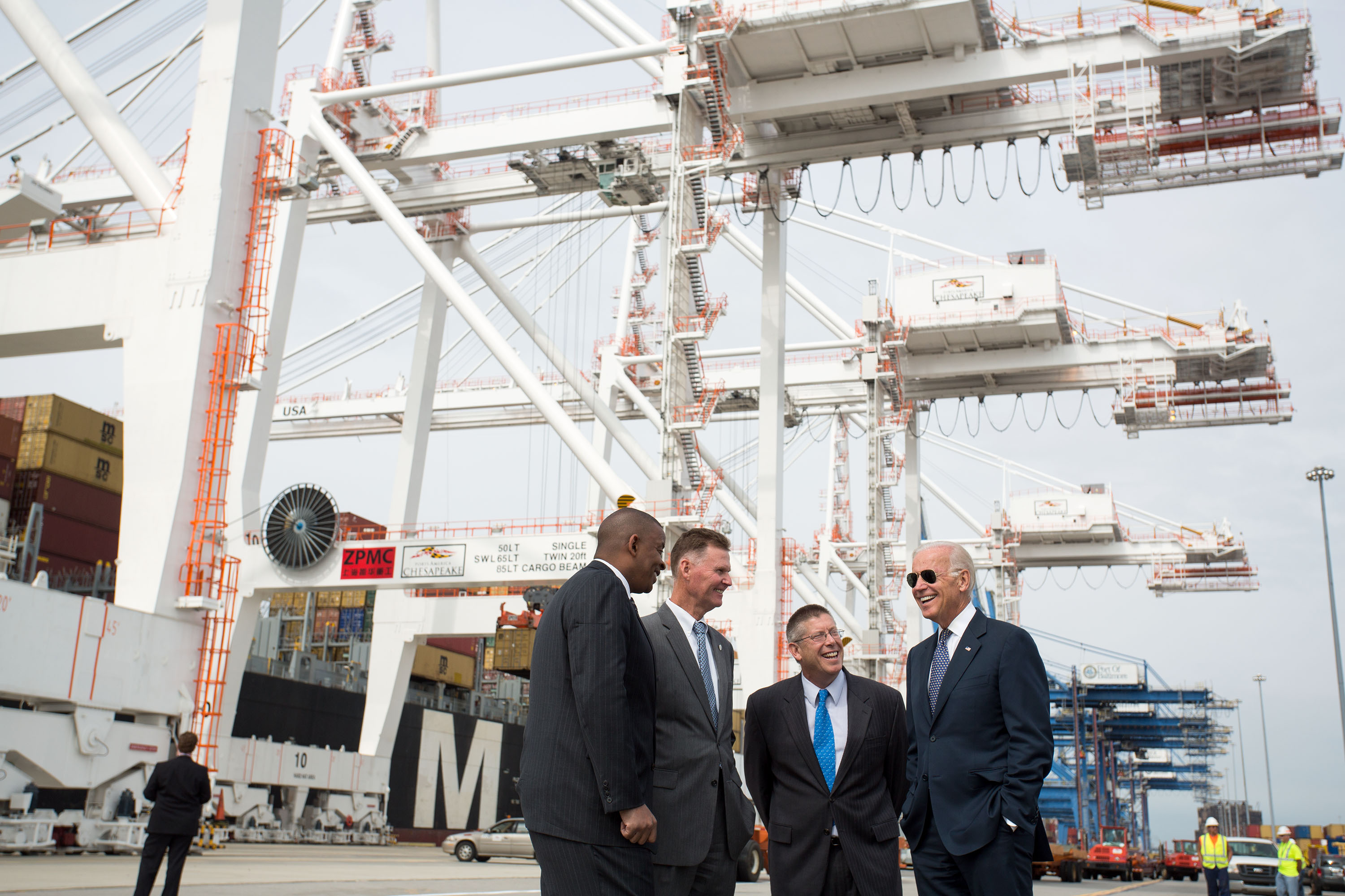 Vice President Biden at the Port of Baltimore (Sept. 9, 2013)