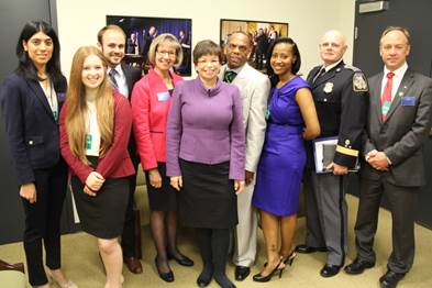 Valerie Jarrett with Gun Violence Prevention Champions of Change