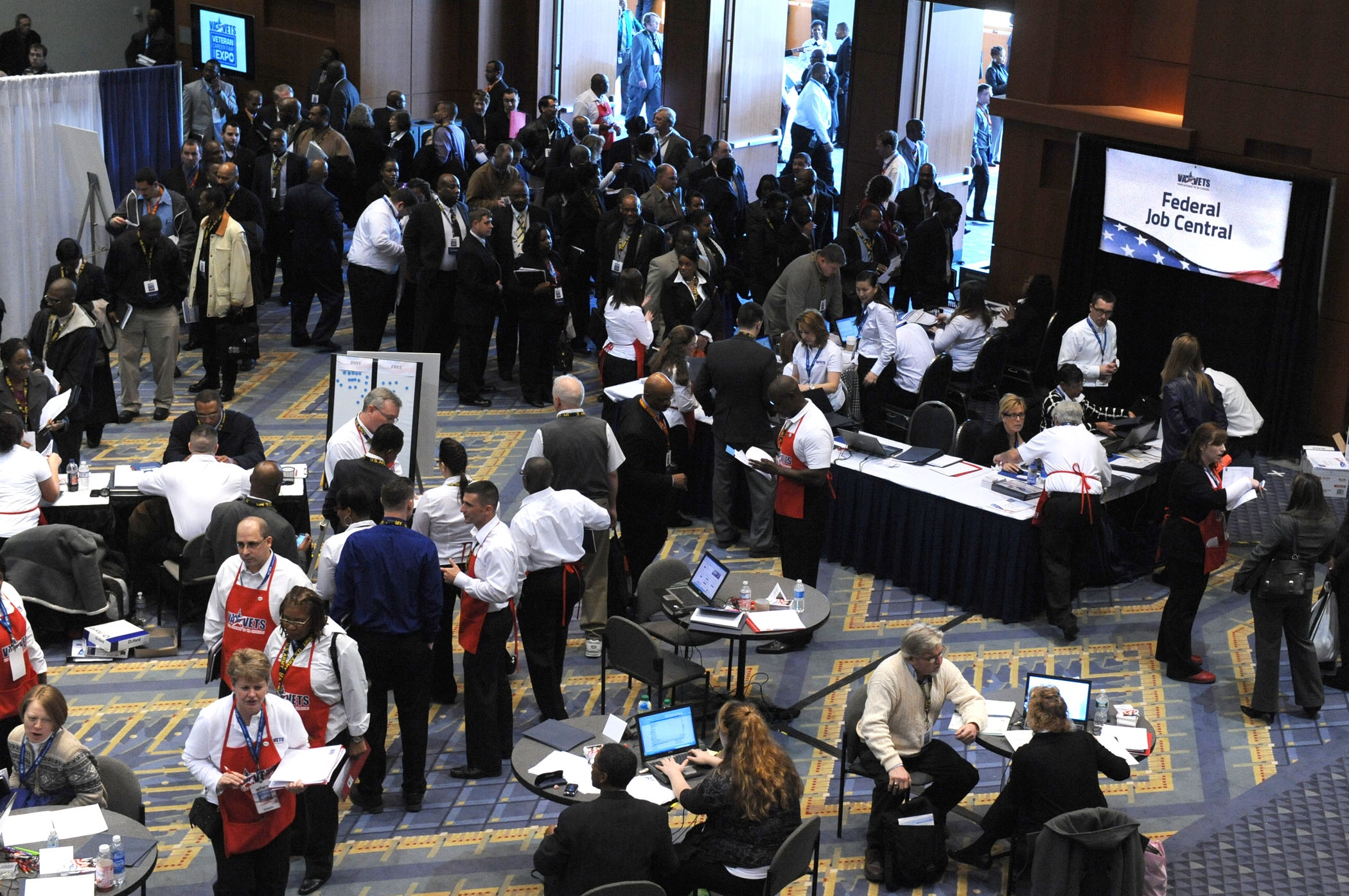Vets Attend DC Career Fair and Expo
